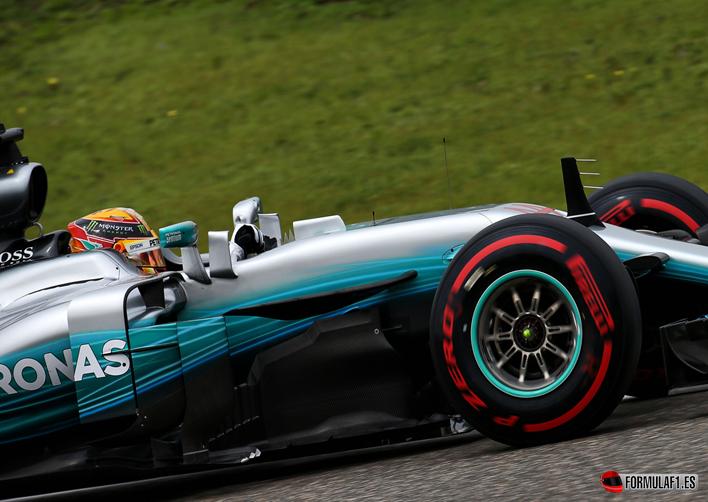 Hamilton. Calificación GP de China 2017