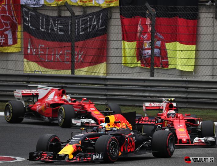 Ricciardo. GP China 2017