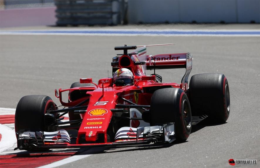 GP de Rusia 2017 – Libres 2: Doblete para Ferrari con Vettel en cabeza