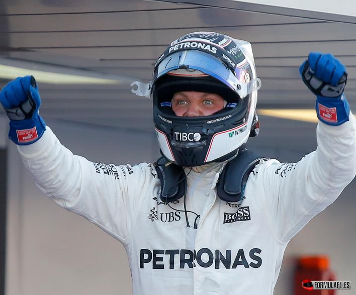Valtteri Bottas vencedor del GP de Rusia 2017
