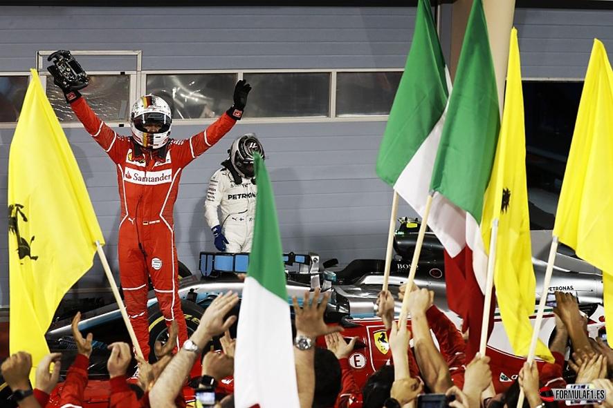 GP de Baréin 2017: Vettel bate a Hamilton y reafirma su liderato