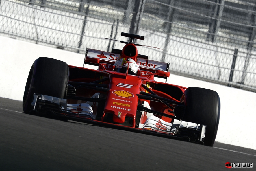 GP de Rusia 2017 - Calificación: Vettel logra la pole con primera fila de Ferrari incluida