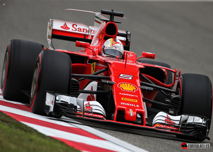 Vettel. Calificación GP de China 2017