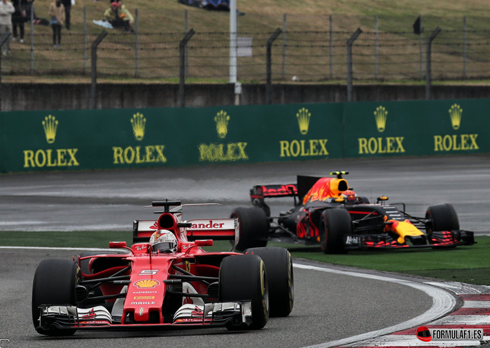 Vettel. GP China 2017