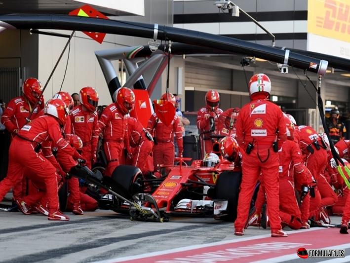 Vettel. GP de Rusia 2017