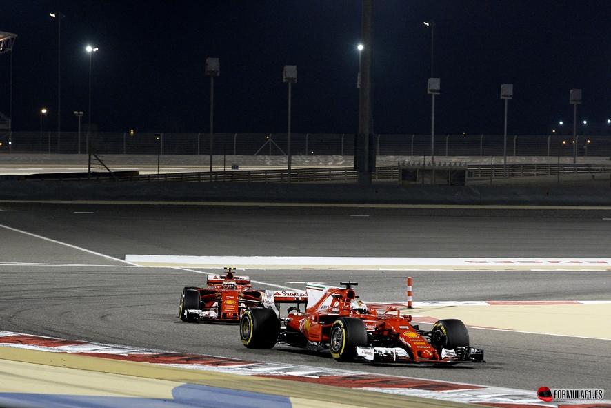 GP de Baréin 2017 – Libres 1 y 2: Sebastian Vettel el más rápido con Red Bull y Mercedes al rebufo