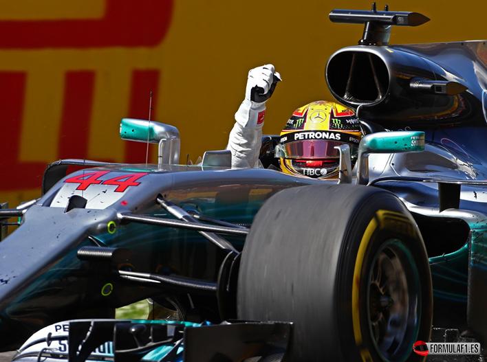 Hamilton ganador del GP de España 2017