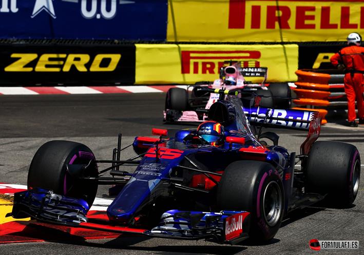 Sainz. GP de Mónaco 2017