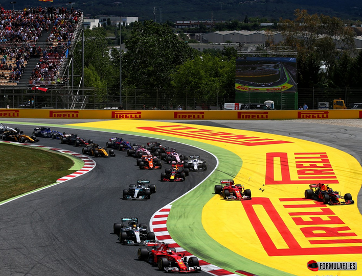 Salida GP de España 2017