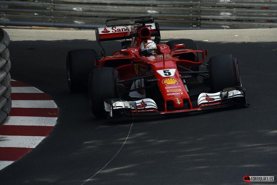 GP de Mónaco 2017 – Libres 3: Vettel lidera el doblete de Ferrari
