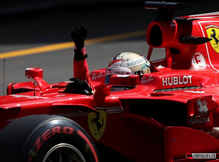 GP de Mónaco 2017: Ferrari apuesta por Vettel