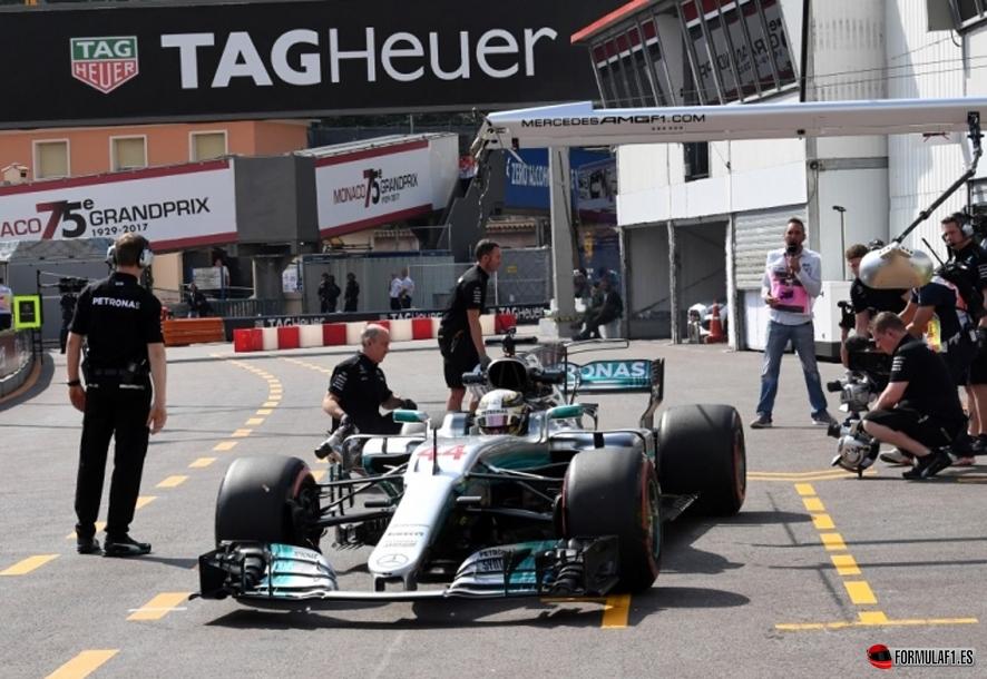 GP de Mónaco 2017 – Libres 1: Hamilton lidera con Vettel a sólo dos décimas