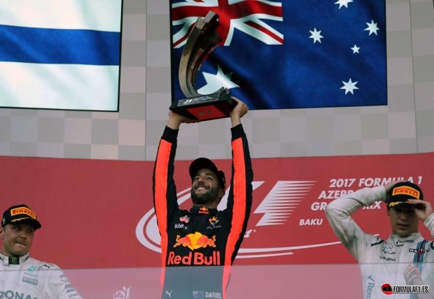 GP de Azerbaiyán 2017: Ricciardo vence en Bakú tras la polémica batalla entre Vettel y Hamilton