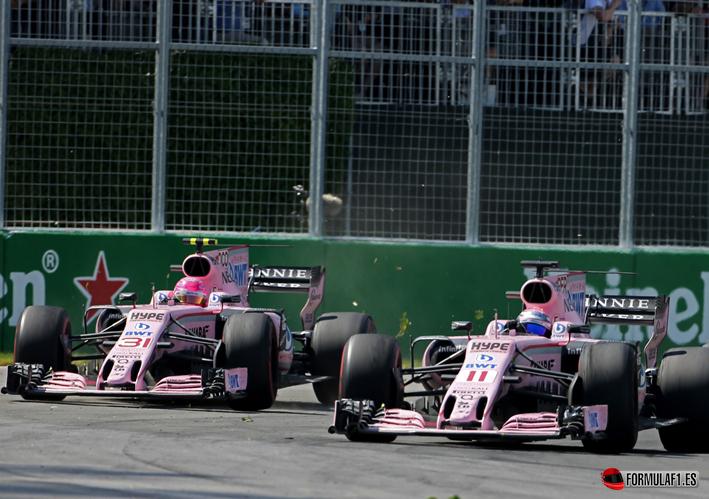 Force India. GP Canadá 2017