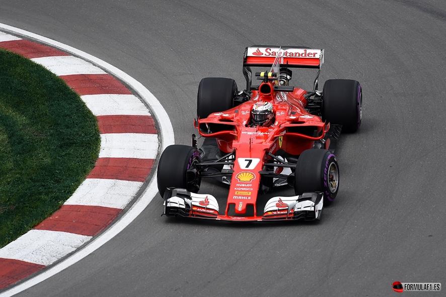 GP de Canadá 2017 – Libres: Kimi Raikkonen lidera con Lewis Hamilton al rebufo