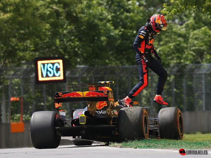 Verstappen. GP Canadá 2017