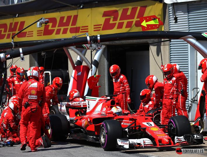 Vettel. GP Canadá 2017