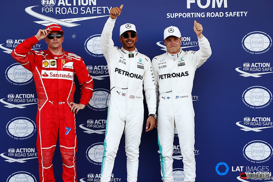 GP de Azerbaiyán 2017- Calificación: Pole para Hamilton seguido de Bottas y Raikkonen en Bakú