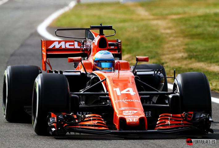 Alonso. Calificación GP Gran Bretaña 2017