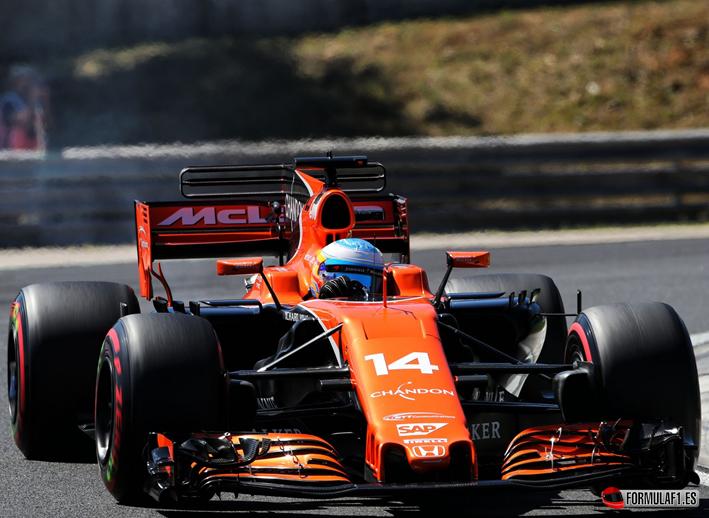 Alonso. Calificación GP Hungría 2017