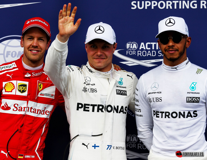 Bottas consigue la Pole del GP de Austria 2017