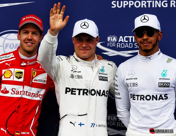 Bottas consigue la Pole del GP de Austria 2017