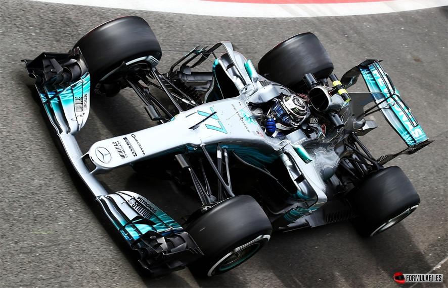 GP de Gran Bretaña 2017-Libres 2: Bottas lidera el doblete de Mercedes