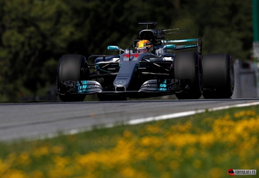 GP de Austria 2017 – Libres 1: Hamilton bate el récord con Verstappen a dos décimas y los McLaren en el top diez