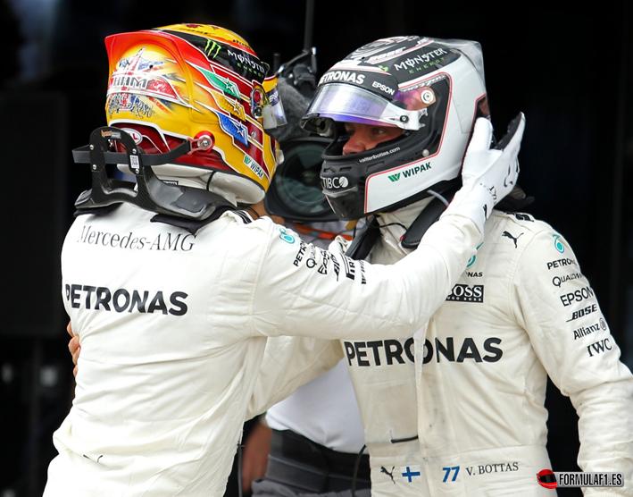 Hamilton consigue la victoria. GP de Gran Bretaña 2017