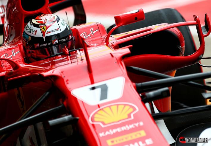 Raikkonen. Calificación GP Gran Bretaña 2017