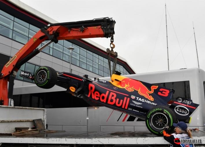Ricciardo. Calificación GP Gran Bretaña 2017