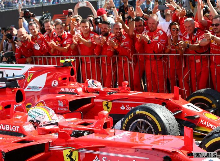 S. Vettel consigue la victoria. GP Hungría 2017