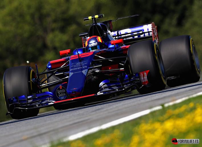 Sainz. Calificación GP de Autria 2017