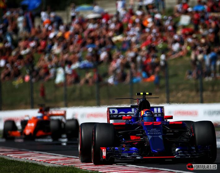 Saiz y Alonso. GP Hungría 2017