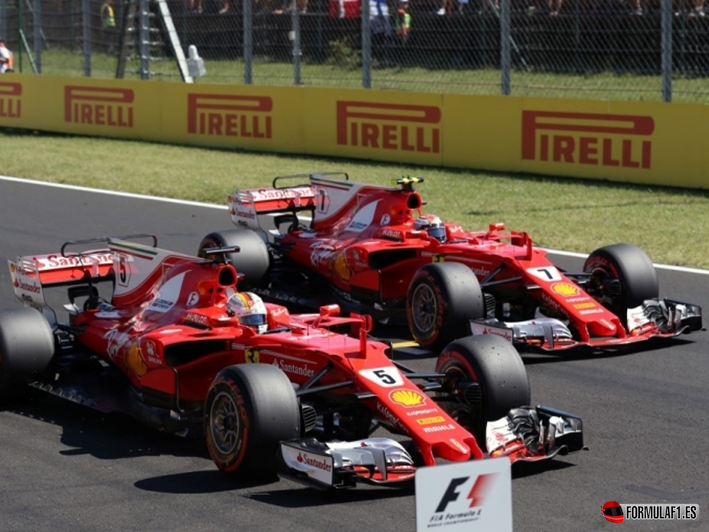 Vettel consigue la Pole. GP Hungría 2017