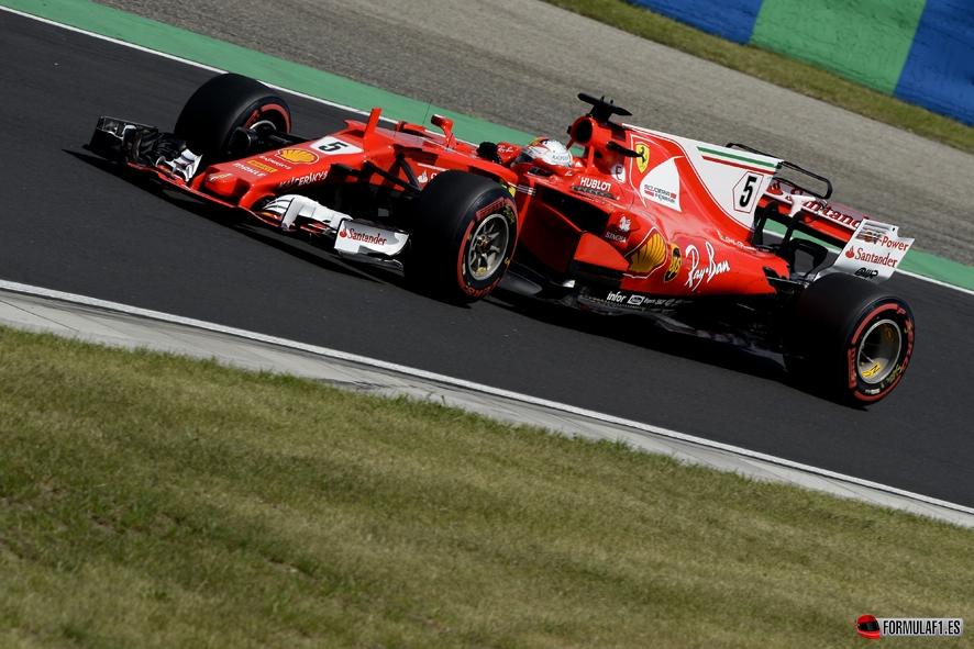GP de Hungría 2017 – Libres 3: Todo al rojo en Hungaroring