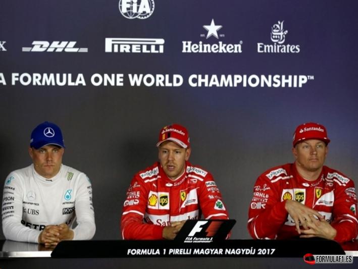 Vettel logra la Pole. GP Hungría 2017