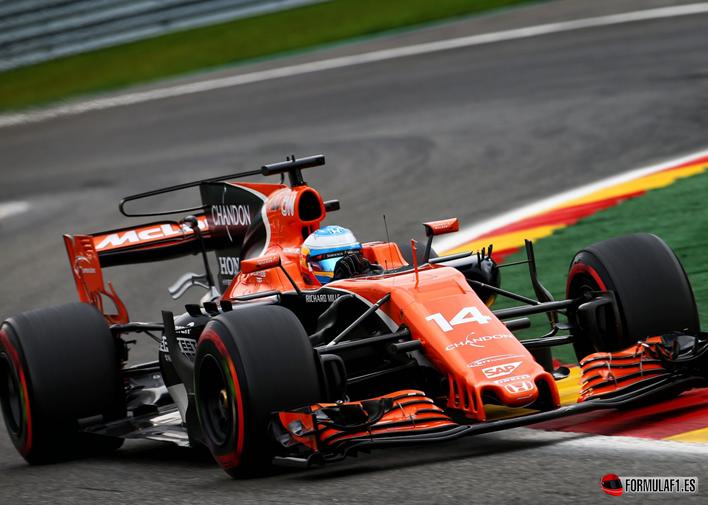 Alonso. Calificación GP de Bélgica 2017