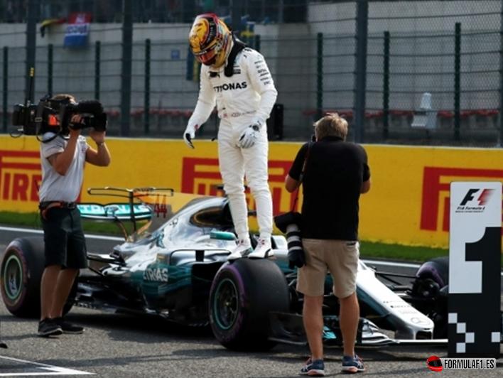 Hamilton consigue la Pole del GP de Bélgica 2017