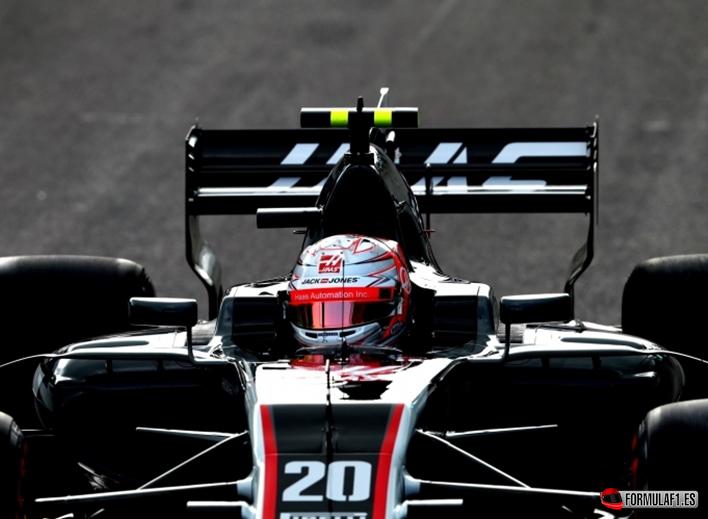Magnussen. Calificación GP de Bélgica 2017