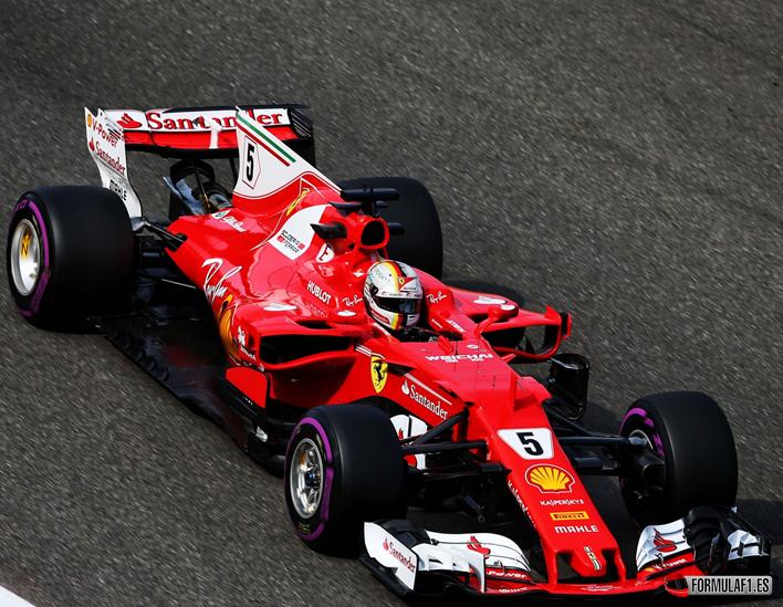 Vettel. Calificación GP de Bélgica 2017
