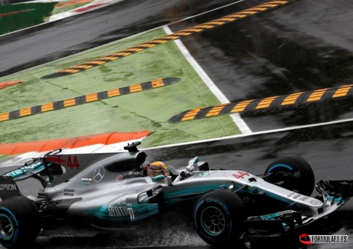 Hamilton consigue la Pole del GP de Italia 2017