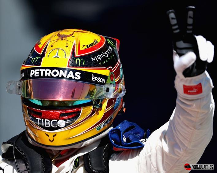 Hamilton consigue la victoria del GP de Italia 2017