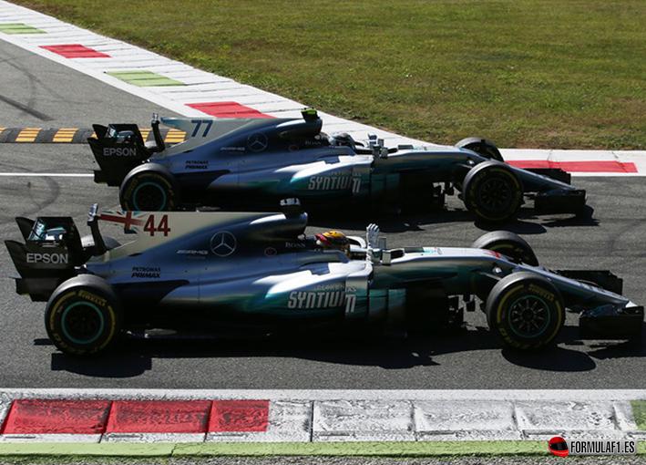 Hamilton logra la victoria del GP de Italia 2017