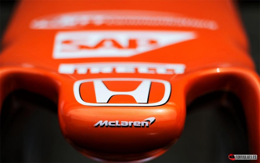 Mclaren Honda 2021