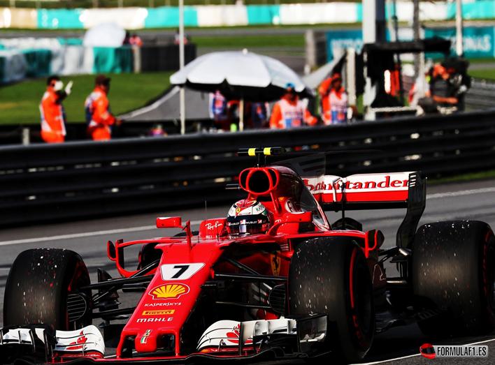 Raikkonen. Calificación GP Malasia 2017