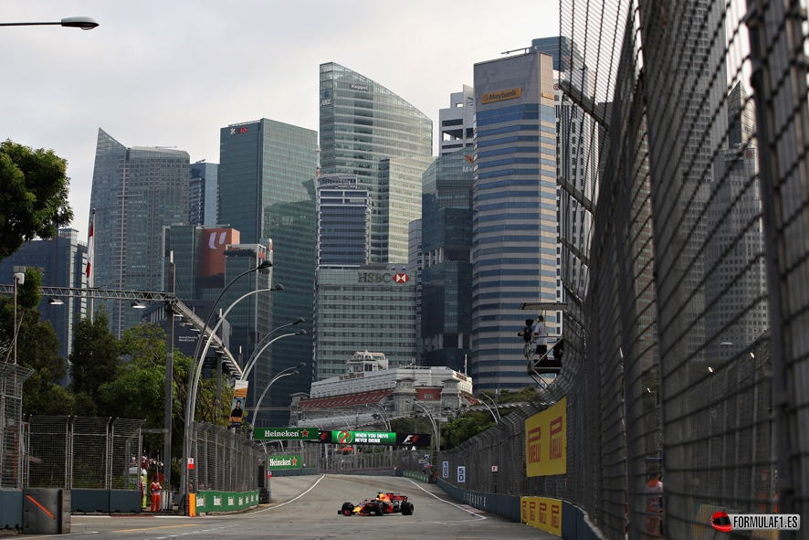 GP de Singapur 2017- Libres 1: Daniel Ricciardo bate el récord en ...