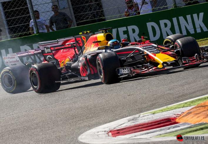 Ricciardo. GP Italia 2017