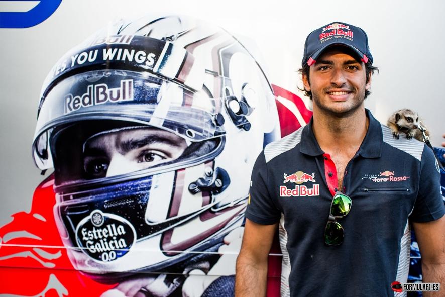 Carlos Sainz será piloto oficial de Renault desde el GP de Malasia