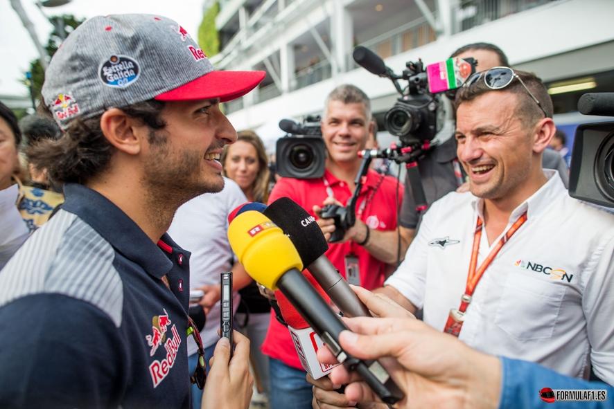 Carlos Sainz debutará con Renault en Malasia